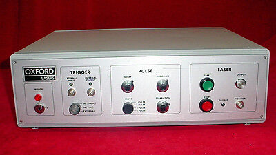 Oxford Lasers Asi 1000 Laser 4 Pulse Mode Trigger Control