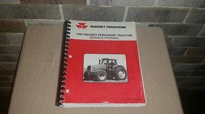 Huge 1997 Massey Ferguson Farm Tractor Service Training Manual Book