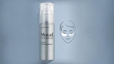*BOXED NEW* MURAD Eye Lift Firming Treatment 30ml +40 Eye Pads *Free P+P*