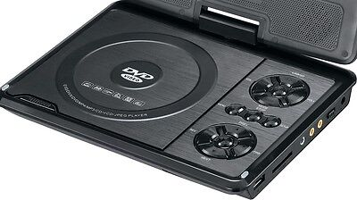 Portable DVD Player with USB Input and SD Card Reader