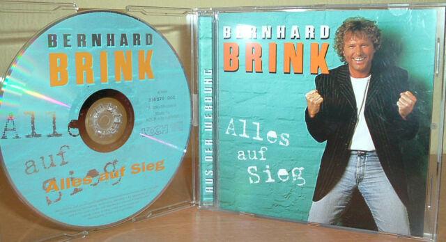 BERNHARD BRINK  -  Alles auf Sieg