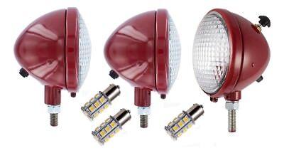 Headlights 12v Rear Combo Light Ih Farmall 100 130 140 200 230 240 Tractor