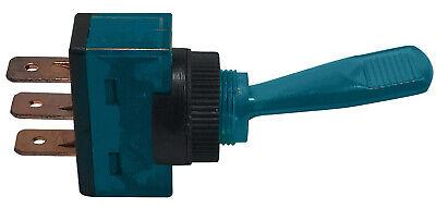 4 Blue Illuminated Plastic On Off Toggle Switch 12v 20a Spst - Car Boat