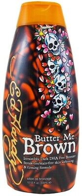 Ed Hardy BUTTER ME BROWN Indoor Tanning Bed Lotion - 10 Oz Indoor Tanning Bed Lotion
