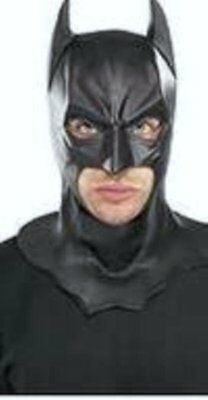 Batman Dark Knight Movie Adult Full Mask Costume DC Comics Licensed (Adult Movie Batman Mask)