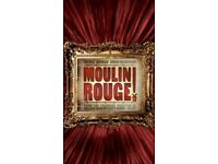 Secret Cinema 2 x Tickets Moulin Rouge Wednesday 19th April - TONIGHT!!