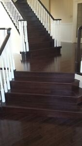 Hardwood and Laminate flooring installations @ thehardwoodguy.ca