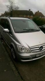 Urgent Sale of Mercedes Viano 12 plate with PCO ready
