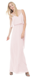 Bridesmaid Gown PINK - joanna august DANI LONG