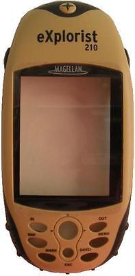 Magellan Explorist 210 Handheld Gps Replacement Front Cover Plastics -