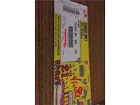 Sunday V festival ticket