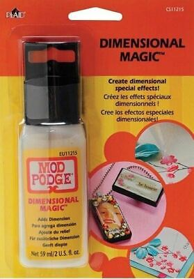 Mod Podge Dimensional Magic (Mod Podge Dimensional Magic Adds Dimension Special Effects Dries Clear)