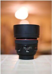 Canon 50L f/1.2 lens 50mm