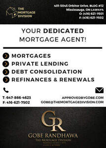 Mortgage Declined? -Private Lending-Refinances-Mortgages