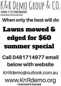 $60 lawns mowed and edged Merewether Newcastle Area Preview