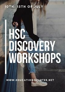 HSC Discovery Holiday Workshops Merrylands Parramatta Area Preview
