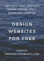 I will create a website for your small business for free!