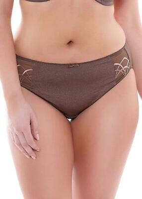 Elomi Cate Briefs Womens Pecan Full High Leg Everyday Knickers 4035 Various New