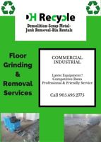 Floor Grinding & Removal Services