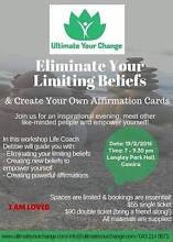 Eliminate Your Limiting Beliefs Camira Ipswich City Preview
