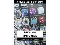 Cash for Broken/Cracked IPhones