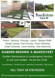 Landscaping, Garden Maintenance, Hedge Cutting and Tree Pruning