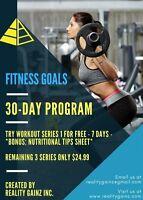 30-DAY WORKOUT PROGRAM - FREE TRIAL