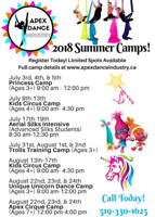 Summer Camps at Apex Dance Industry