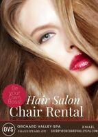 Chair Rental | Hairstylist
