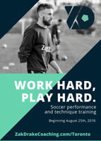 Professional Soccer Training | Private Individual/Small Group