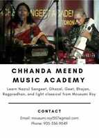 Voice Lessons (Indian classical, semi-classical)