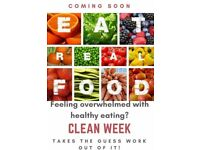 7-day online clean eating and beginner fitness program