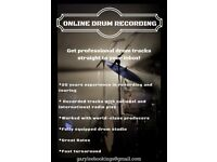 ONLINE SESSION DRUMMER