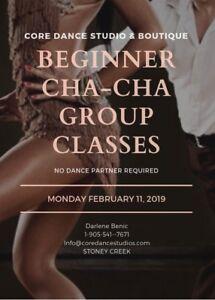 Beginner Cha Cha Cha Group Classes Stoney Creek