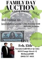 Paul & Bogarts Family Day Online Auction. Starts @ 11, BID NOW!!