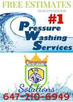 CLEANING SOLUTIONS-DECKS-FENCES-SIDING-STAINING-POWERWASHING-