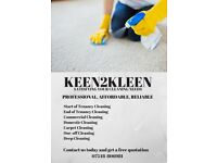Keen2Kleen | Domestic Cleaners/ House Cleaning/ End Of Tenancy Cleaning/Deep Cleaning