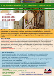 RENOVATIONS /UPGRADES & REPAIRS/COMMERCIAL PROJECT