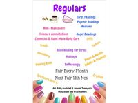 Psychic Health And Beauty Fair 17th December Hoo, Medway