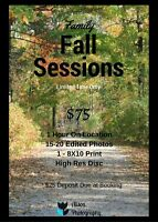 Family Fall Sessions!