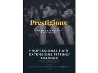 Learn to fit hair extensions. Earn up to £1000 per week