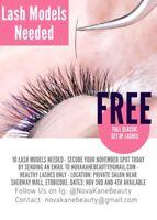Models Needed *FREE* Eyelash Extensions