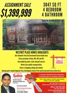 Nottingham- north Ajax house for sale !