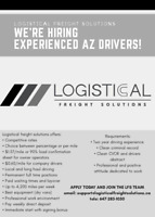 LOOKING FOR EXPERIENCED OWNER OPERATORS! $$$1.57/MILE + SIGNING