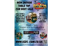 Kids Car Boot Sale / Indoor Table Top - Sun 16th Sept 2018