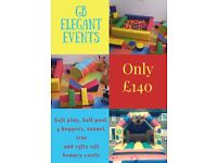 Children's party, entertainer, bouncy castle, soft play, mascots, popcorn, candy floss & sweet cones