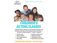 Childrens Drama Classes @Island Arts Studio, Milkwood Rd, Herne Hill, SE24 0EZ