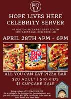 Hope Lives Here Animal Rescue Society Pizza Fundraiser