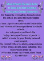 I'm Cleaning in Enfield and Elmsdale areas