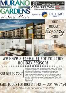 ** Murano Gardens of South Pointe has  FREE gift for you! **